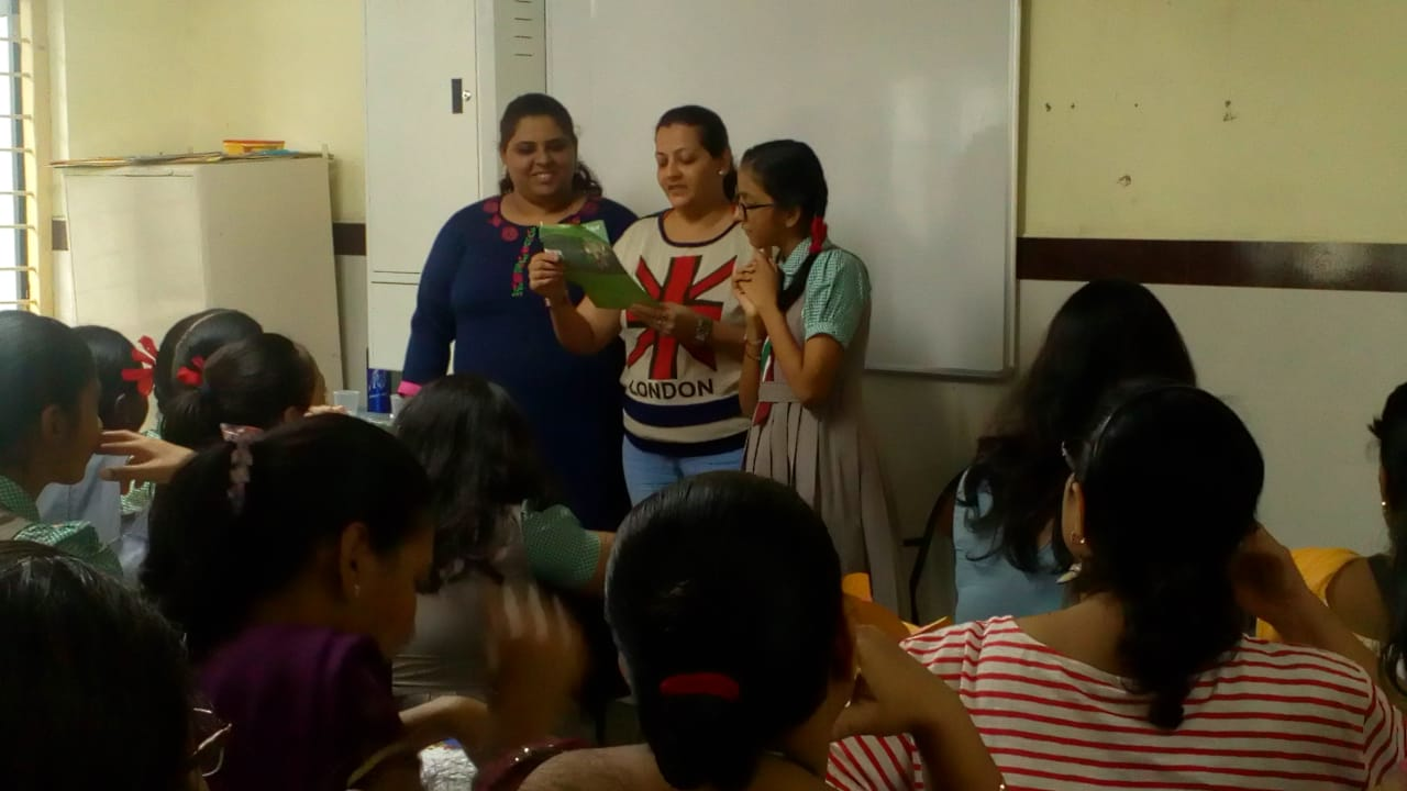 A HYGIENE WORKSHOP FOR MOTHERS & DAUGHTERS | Sharon English School