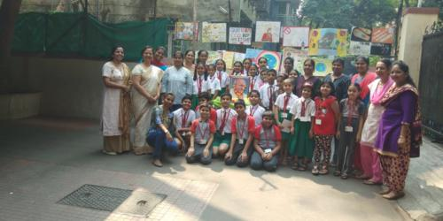 Primary section celebrates Gandhi Jayanthi