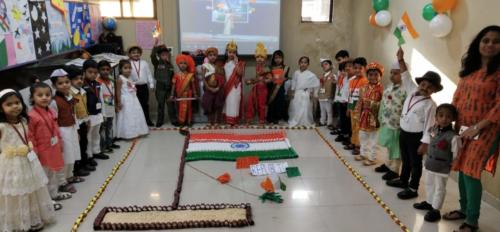 Republic Day Celebrations at kindergarten
