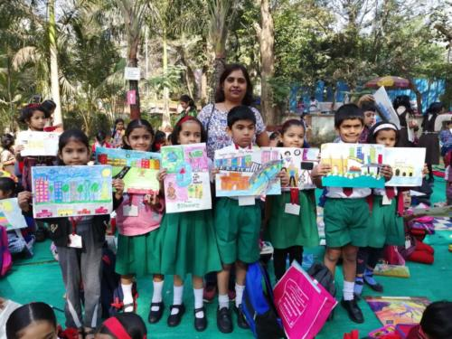 Sharonites at the Mayor s Drawing Competition